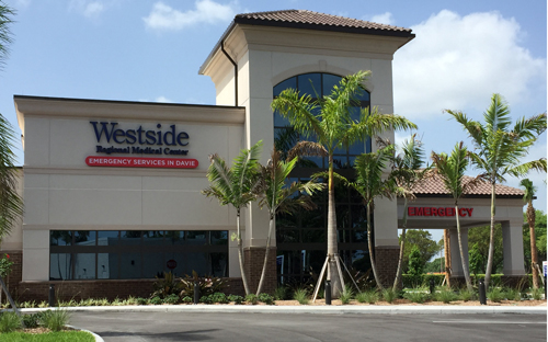 Westside Regional Medical Center Emergency Room Davie Fl